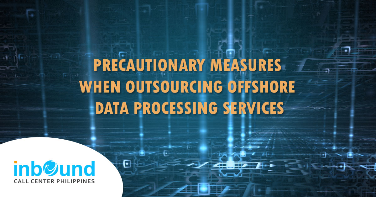 offshore data processing